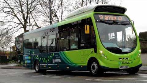 Elektrobusse für Milton Keynes
