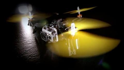 Pocket Drone - die Drohne zum Mitnehmen