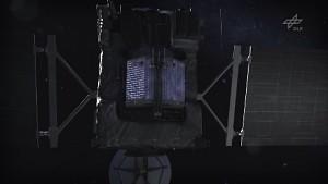 Sonde Rosetta auf Kometenmission