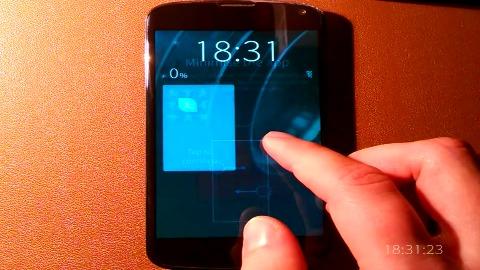 Sailfish OS auf dem Nexus 4
