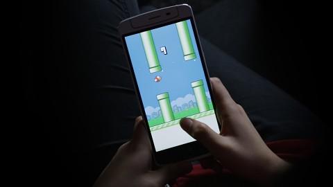 Flappy Bird ausprobiert
