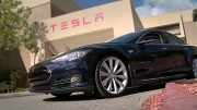 Tesla S - Touchscreenfunktionen