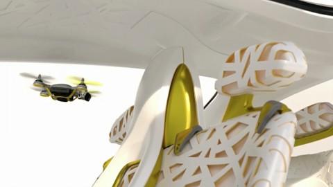 Renault Kwid Concept - mit Flugdrohne an Bord