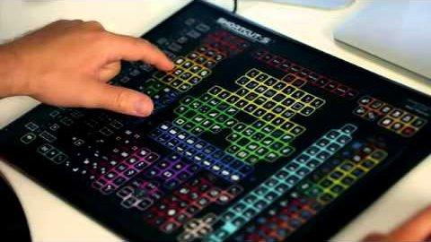 Shortcut-S - Tastatur für Photoshop (Kickstarter)
