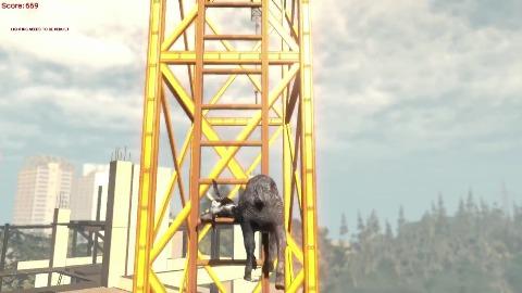 Goat Simulator - Gameplay aus der Alpha
