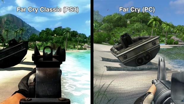 Far Cry Classic Im Vergleich Gameplay Klassisch Technik Antik Golem De