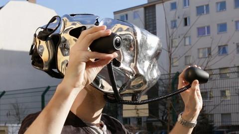 Bioculares Sehen mit dem Eyesect-Helm - Reportage