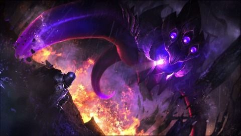 Vel'Koz - neuer Champion für League of Legends