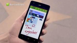 Acer Livescreen - schnelles Teilen von Inhalten