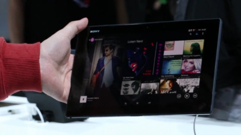 Xperia Z2 Tablet - Hands on