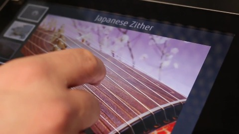 Haptisches Feedback für Touchscreens - Hands on