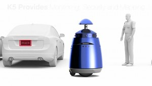 Knightscope K5 - autonomer Wachenroboter