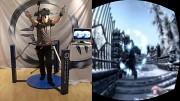 Skyrim im Cyberith Virtualizer