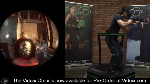 Battlefield 4 mit Virtuix Omni