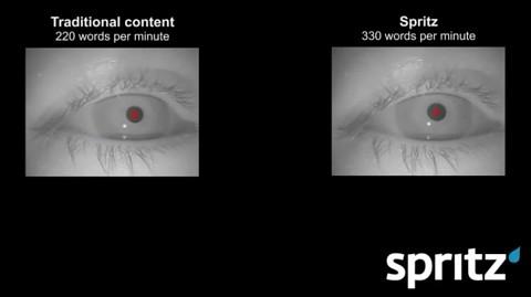 Eyetracking mit Spritz