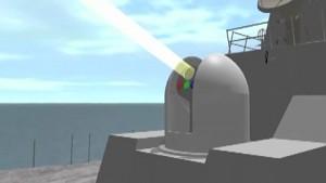 Laserwaffensystem der Navy
