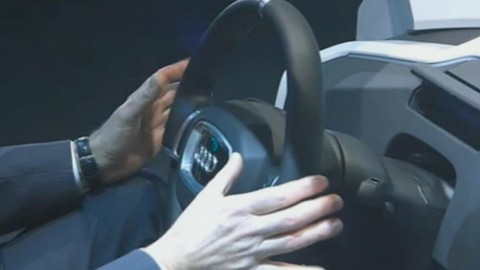 Volkswagen zeigt Cockpit für vollautomatisches Fahren