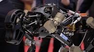 DFKI Roboter Charlie auf der Cebit 2014
