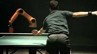 Timo Boll vs. Roboter Kuka KR Agilus - Tischtennismatch