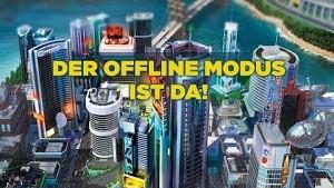 Offlinemodus für Sim City 5 - Trailer