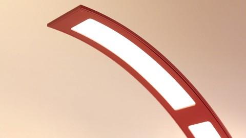 LG-OLED-Tischlampe ausprobiert