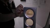 Durchsichtige OLED-Leuchte von Toshiba angeschaut