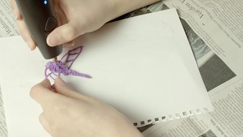 Golem.de kreiert Libelle mit 3Doodler