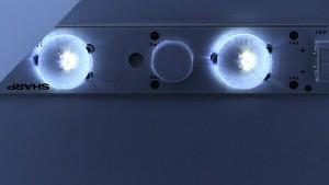 Sharp zeigt LEDs mit regelbarer Lichttemperatur