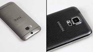 HTC One (M8) und Samsung Galaxy S5 - Vergleich