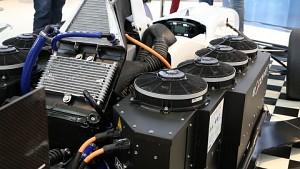 Formel-3-Rennwagen wird elektrisch