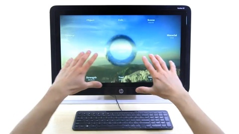 HP Leap Motion Keyboard - Trailer