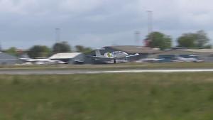 Testflug des Airbus E-Fan 2.0 am 25. April 2014