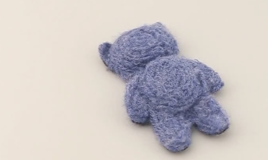 Teddybären drucken 3D-Druck von weichen Objekten