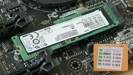 Kurztest der M.2-Schnittstelle und der Samsung-SSD XP941
