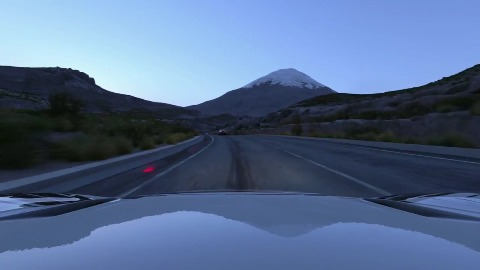 Driveclub - Sonnenaufgang in Chile (Gameplay, PS4)