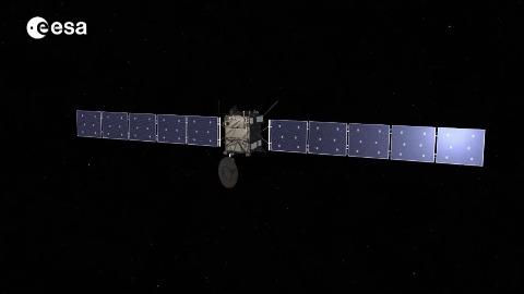 Rosetta bremst ab (Esa)