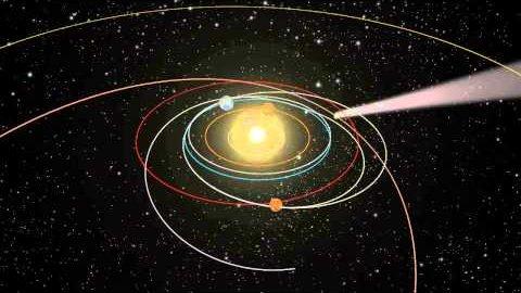Die Verfolgung eines Kometen (Esa)