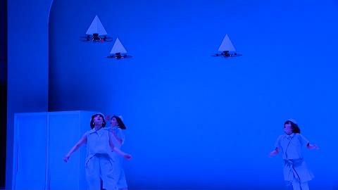 Choreographie mit Drohnen