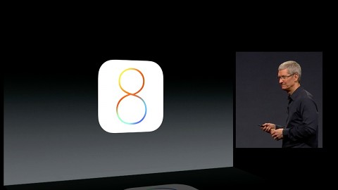 Apple demonstriert iOS 8
