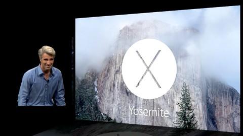 Apple zeigt das Aussehen von OS X Yosemite