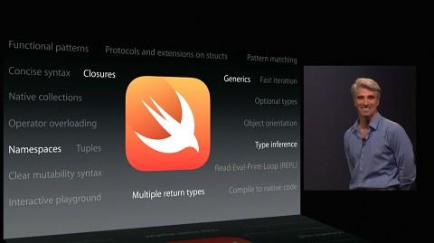 Apple stellt Swift vor