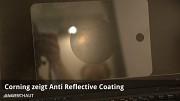 Corning zeigt Anti-Reflective Coating für Gorilla Glass
