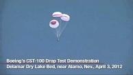 Fallschirmtest mit CST-100 - Boeing