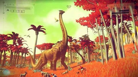 No Man's Sky - Gameplay (E3 2014, PS4)