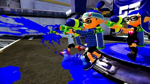 Splatoon - Trailer (E3 2014, Wii U)