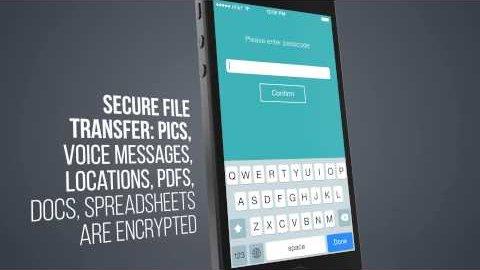 Sicher - Messenger-App für iOS, Android und Windows Phone