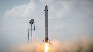 Testflug der F9R im Juni 2014 - SpaceX