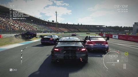 Das erste Rennen in Grid Autosport - Gameplay