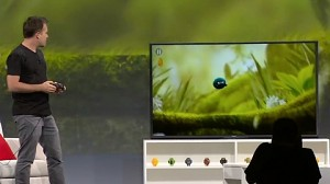 Google demonstriert Android TV