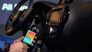 Google demonstriert Android Auto